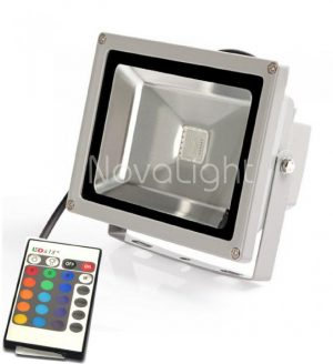 Reflector LED RGB 20w Frontal