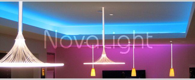 Tira con 300 LED 3528 Monocromática Uso en techo falso
