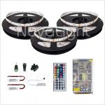Kit completo de Tira LED RGB 15 mt (900 LED 5050)