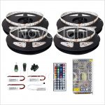 Kit completo de Tira LED RGB 20 mt (1200 LED 5050)