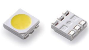 Imagen de un chip LED SMD 5050