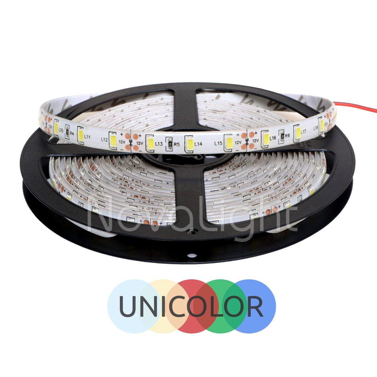 Portada de tira con 300 LED SMD 5630 Unicolor