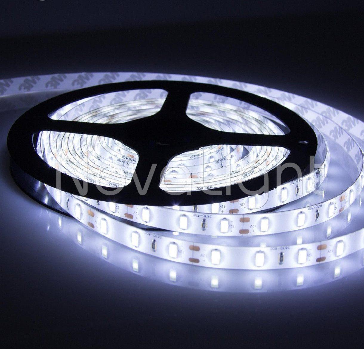 Ejemplo de iluminación proporcionada por la tira 5630 Blanco Puro