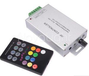 Control de audio con entrada directa para LED Multicolor