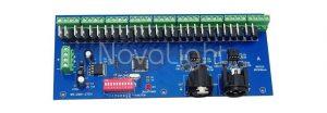Convertidor o Decodificador DMX a Sistemas LED 27 Canales