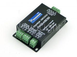 Decodifircador driver dmx 512 3 canales para tiras y modulos LED