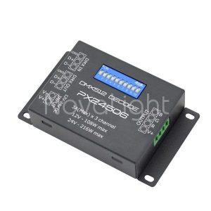 Convierte señal DMX a RGB para tiras y modulos LED