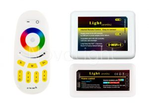 Control de tiras LED mediante Smartphone Android e Iphone