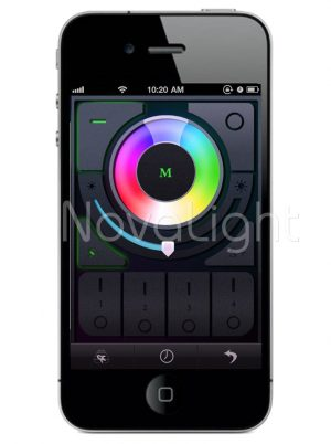Control de tiras led mediante smparthone o tablet Android / iOS