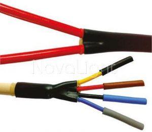Termoretractil ideal para aislamiento de cables y conexiones electricas