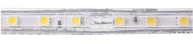 Detalle de las mangueras / tiras led de 120v Alto Voltaje
