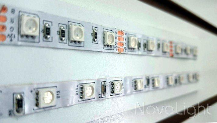imagen de las diferencias entre la Calidad de tira LED