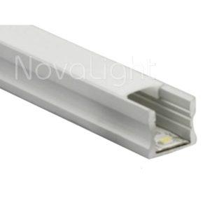 BAL012 - Perfil de Aluminio para tira LED - Multripropósito, para fijar, empotrar y colgar