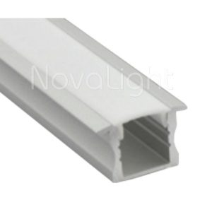 BAL013 - Perfil de Aluminio para tira LED - Multipropósito, ideal para empotrarse