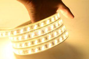 Manguera LED en Blanco Puro o Calido con doble linea LED SMD5630