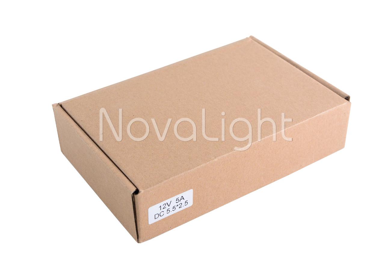 Transformador para LED 12v 60W en caja