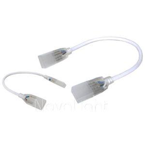 Conectores Junta con Cable para union de Mangueras LED 120v - Version RGB y Unicolor